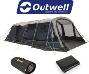 Outwell Vermont 7P Tent 2020 (Inc: Carpet + Footprint)